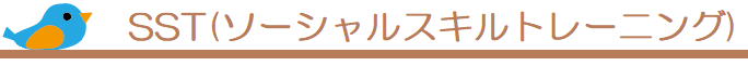 SST(ソーシャルスキルトレーニング)